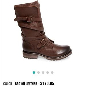 BANNDIT BROWN LEATHER BOOT